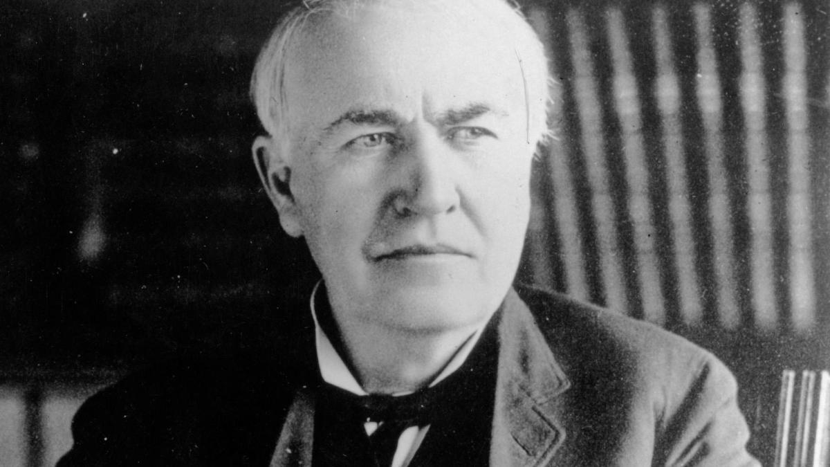 Thomas Edison – Nhà phát minh số một của Hoa Kỳ và thế giới (1847 – 1931)
