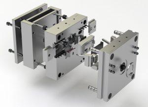Khuôn ép nhựa #P142 - Cấu trúc đẩy hai bước