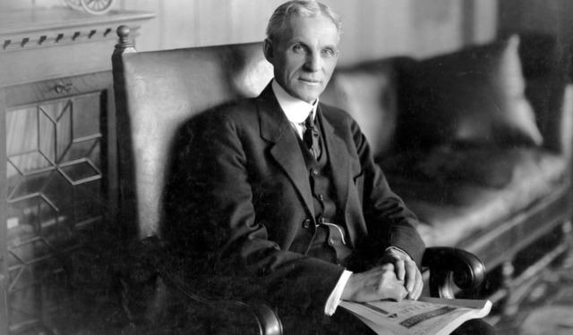 Henry Ford: huyền thoại đi lên từ thất bại